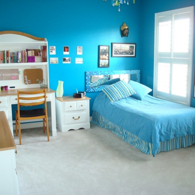 Bed Room Anak Perempuan HJ Interior Design #3 (blue)