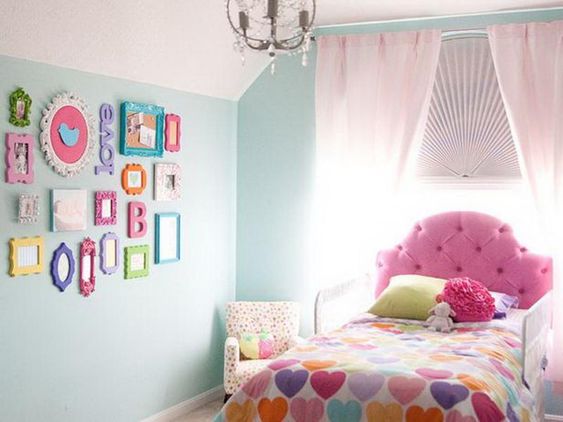 Bed Room Anak Perempuan HJ Interior Design #4 (pink)