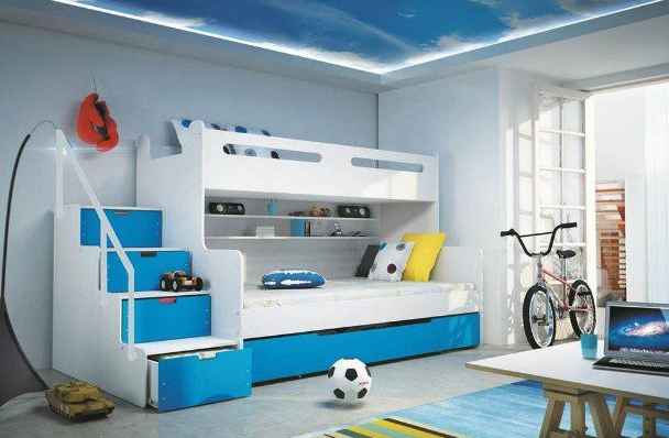 Bed Room Anak Laki-laki HJ Interior Design #3