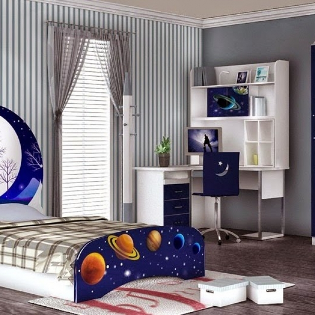 Bed Room Anak Laki-laki HJ Interior Design #4