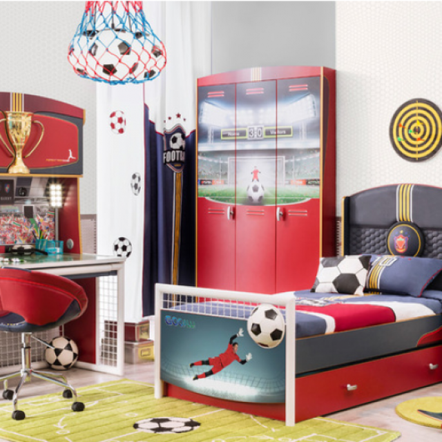 Bed Room Anak Laki-laki HJ Interior Design #5