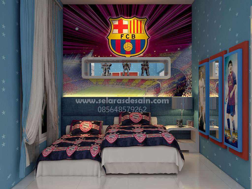 Bed Room Anak Laki-laki HJ Interior Design #1