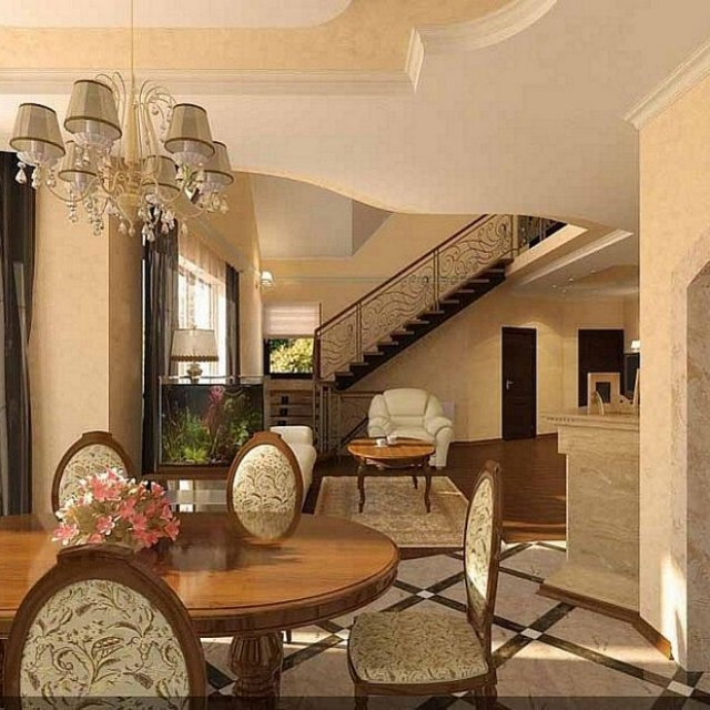 Dining Room HJ Interior Design #4