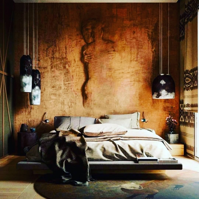Bed Room Interior Design INSTAGRAM #1